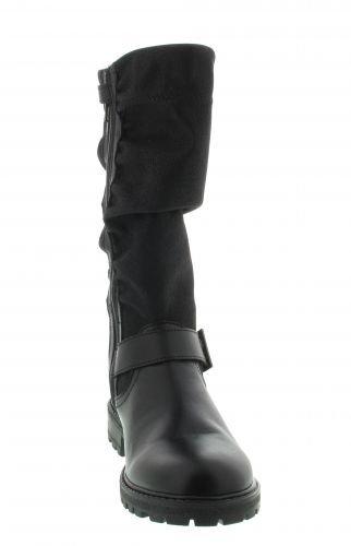 Richter Kinderschuhe Orly, Bottes et bottines à doublure chaude fille Noir - Schwarz (Black 9900)