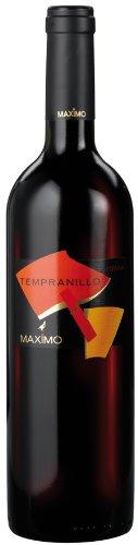 6x 0,75l - 2015er - Bodegas Máximo - Tempranillo - Castilla-La Mancha D.O. - Spanien - Rotwein trocken