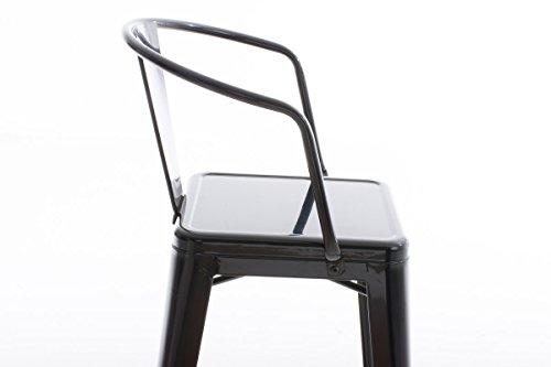 Clp sgabello industrial in metallo vasbro u sgabello bar stile