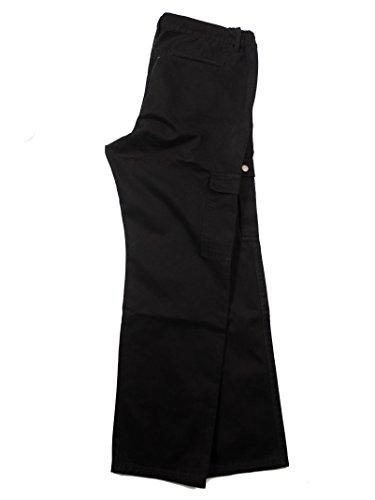 Abraxas Cargohose schwarz Übergrößen bis 12XL, Größe:12XL