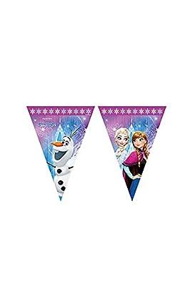 Procos 86921- Guirnalda de banderillas de Disney Frozen Northern Lights, multicolor. de Procos