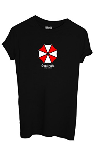 T-SHIRT UMBRELLA RESIDENT EVIL-GIOCHI by MUSH Dress Your Style - Uomo-XL-NERA