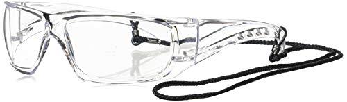 Portwest Klarsicht Sicherheit Spektakel Brille Schutzbrille EN166 EN170 EN172 Arbietskleidung - Durchsichtig, One size