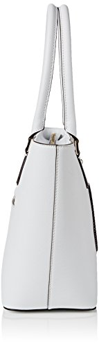 Shopper Piccola Carly Logo Bianco (WHITE)