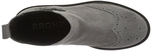 Bronx Brifka-chunkyx, Bottes Classiques femme Grau (08 Grey)