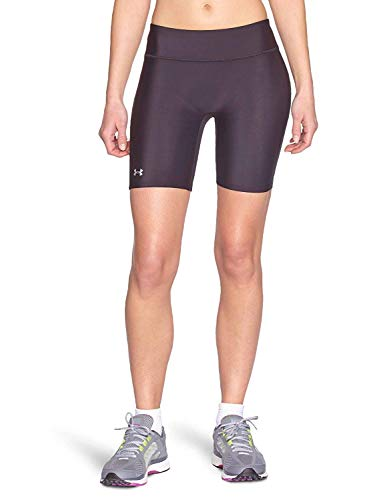 Under Armour Damen Hose UA Authentic Long, Black/Silver, XS -