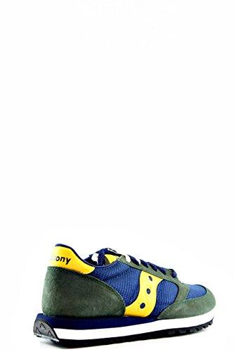 SAUCONY S70363-2 ORIGINAL JAZZ blau grün Herrenschuhe Turnschuhe Schnürsenkel Blu