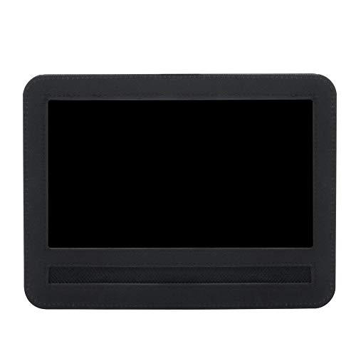 Arteki Car Headrest Mount Holder Strap Case for Portable DVD Players Tablets -Black Tablets (10 inch) (10 Portable In Dvd-player)