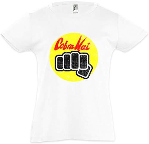 31AGsZHbA0L - Camiseta para niñas Dojo Cobra Kai