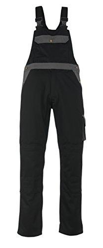 Mascot Milano Bib und Brace Latzhose 90C66, schwarz / anthrazit, 00969-430-9888