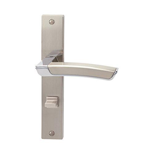 Schössmetall Calla-LS 02652040 - Manija para puerta (con placa larga)