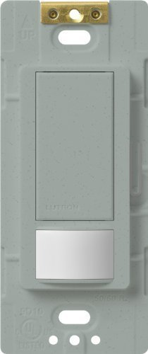 Lutron Maestro Motion Sensor switch, no neutral required, 250 Watts Single-Pole, MS-OPS2-BG, Bluestone by Lutron -