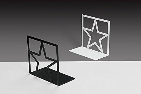 Star Buchstützen aus metall im Kinderzimmer - B160 x T150mm