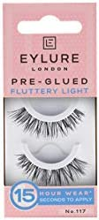 EYLURE Pre Glued False Lashes, Texture 117