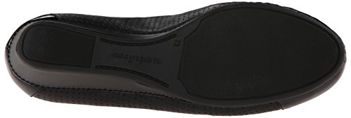 Easy Spirit Women's Dawnette Wedge Sandal, Black, 7 W US Blk/Blk
