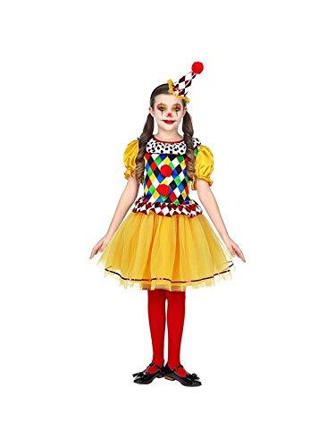 Widmann 06957 Kinderkostüm Clown, Mehrfarbig, 140 cm
