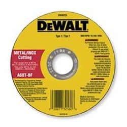 DeWALT Dw8726en métal inoxydable et de coupe de roue