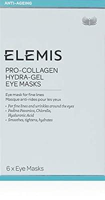 Elemis Pro-Collagen Hydra-Gel Eye Masks, Eye Mask for Fine Lines, 6 Masks