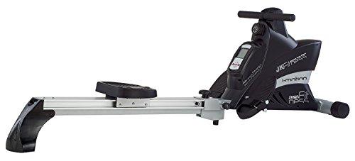 JK Fitness 5075 Vogatore Magnetico, Nero/Silver