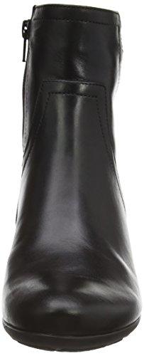 Gabor  Comfort Basic 36.691, Bottes Classics courtes, doublure froide femmes Noir - Schwarz (schwarz (Micro) 67)