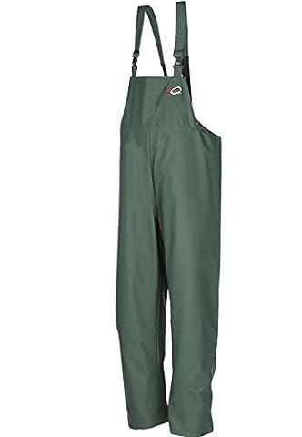 SIOEN 4600A2FC1A41XL Louisiana Bib and brace trousers, X-Large, Green Khaki