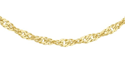 3 - Collar/cadena para hombre Carissima Gold con oro de 18k (750)