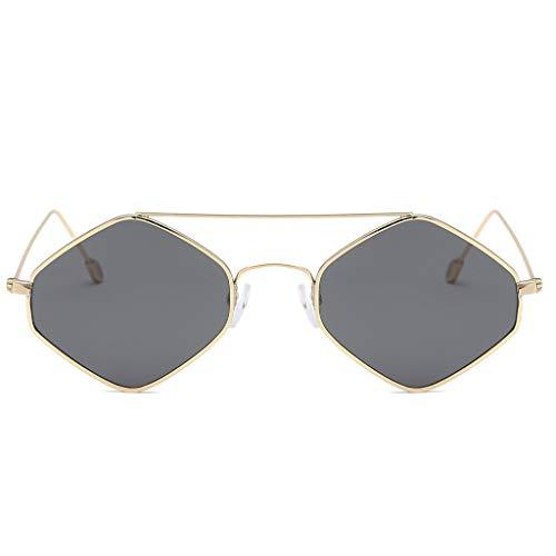 YULAND Sonnenbrille, Unisex Mode Retro Brille Sportbrille, Damen Mode Cat Eye Shade Sonnenbrillen Integrierte Streifen Vintage Brille