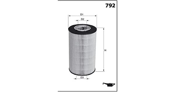 Mecafilter ELH4469 Filtre /à huile