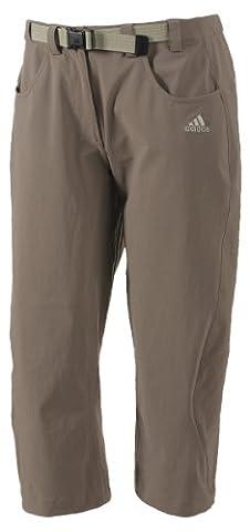 Adidas Outdoor Women Hose Capri Flexhose. Schnelltrocknend. Titangrey. Gr.40