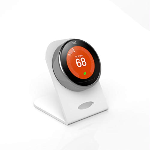 White Luxury Nest Thermostat Stand for Nest Learning Thermostat 3rd Generation