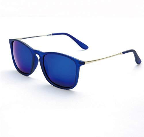GY-HHHH Klassisches Retro-Outdoor-EssentialBunter reflektierender Film Retro- großes Feld Glasblau