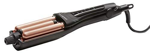 Rowenta CF4710 Waves Addict Haarstyler (6 Temperaturstufen, inkl. Aufbewahrungstasche) schwarz/rosé