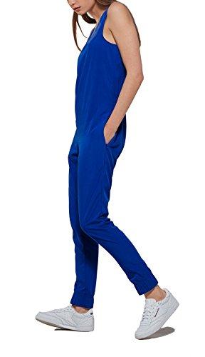 Onepiece Damen Jumpsuit Bronze Blau (Blue)