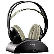 AKG K 912 - Auriculares (Circumaural, gancho de oreja, 18 - 20000 Hz, Inalámbrico, Negro, Cromo, 280g)