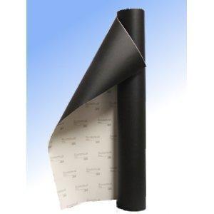 3M Lack Schutz Folie 1220mm breit x 120mm (12cm) - schwarz (Gravel Resistant Film)