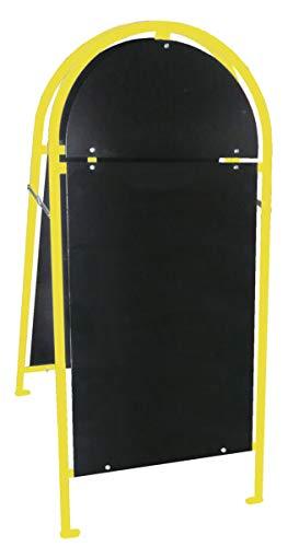 Euro Windkat GmbH Kundenstopper, Werbeaufsteller, Werbetafel, Werbestaender XL (Gelb)