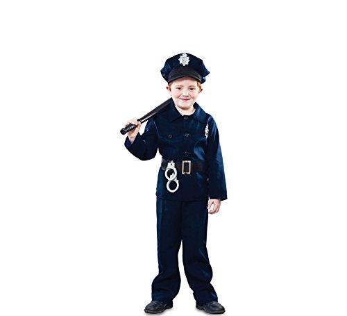 Fyasa 706185-t02Polizist Kostüm, Mittel
