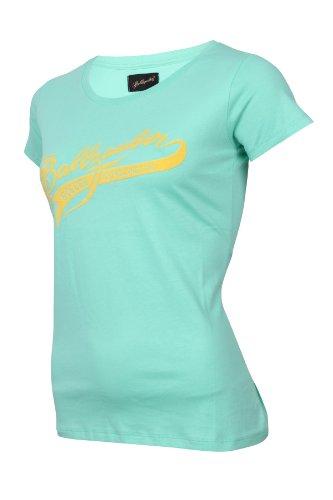 Ballzauber t-shirt pour femme 8 Vert - Opal (bleu)