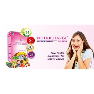 Nutricharge Daily Health Suppliment For Women