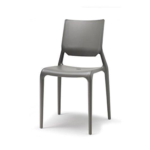 Scab Design Set 6 sedie Sirio Colore Antracite
