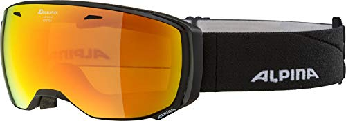 ALPINA Erwachsene Estetica MM Skibrille, Black matt, One Size