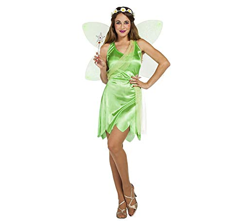 Car&Gus Disfraz de Hada Verde para Mujer