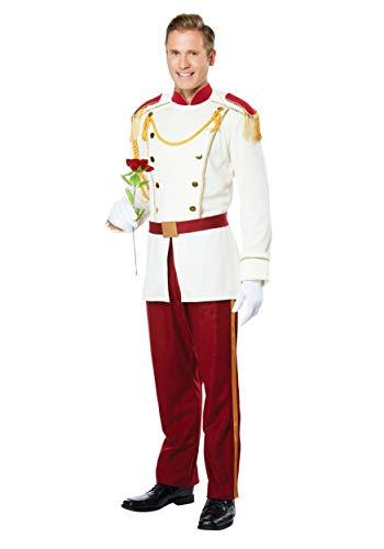 Mens Royal Storybook Prince Fancy dress costume X-Large