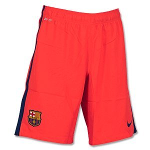2014-2015 Barcelona Away Nike Football Shorts Kids