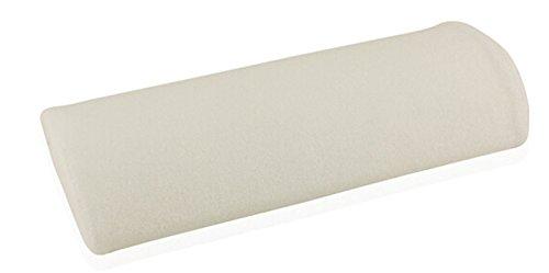 Coussin Repose-main Oreiller Souple pour Nail Art Manucure - Blanc