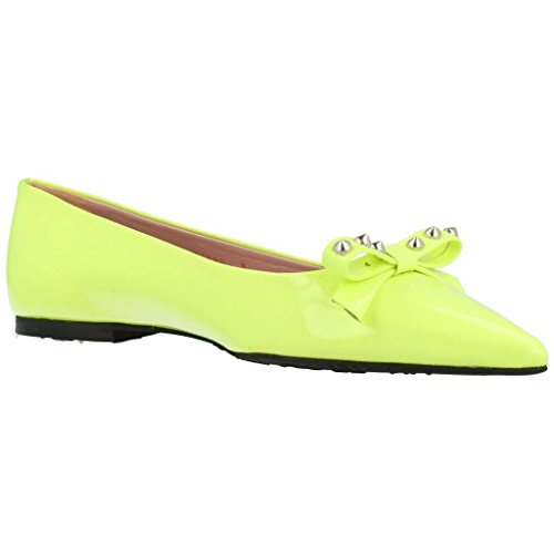 Ballerina Chaussures Pour Femmes, Couleur Jaune, Marque Pretty Ballerinas, Modèle Ballerines Pour Femmes Pretty Ballerinas Elena3d Jaune Jaune