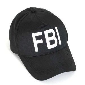 FIB Bascecap Fasching Karnevall Kindercap (Fbi-kostüm Für Jungen)