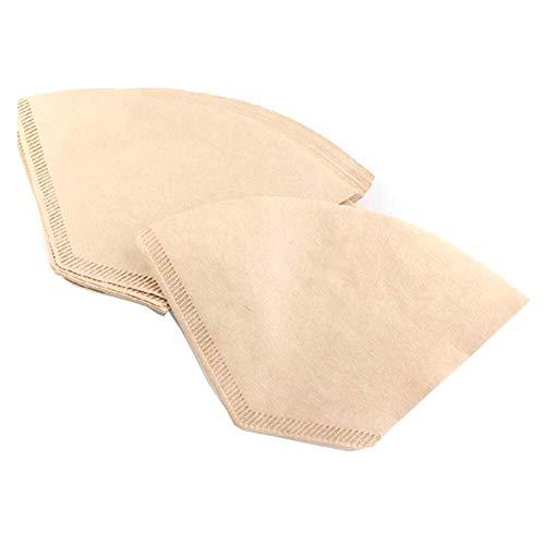 WeFine Kaffeefilter-Papier, Einweg-Papier, ungebleicht, geeignet für Kaffeemaschinen und...