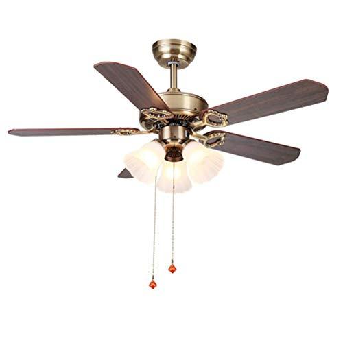 3 Ventiladores ligeros Iluminación de techo Sencillos ventiladores ...