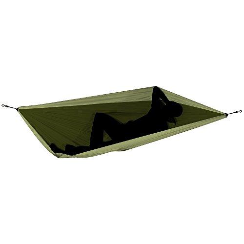 TICKET TO THE MOON Hängematte, Double size – armygrün/ khaki - 2